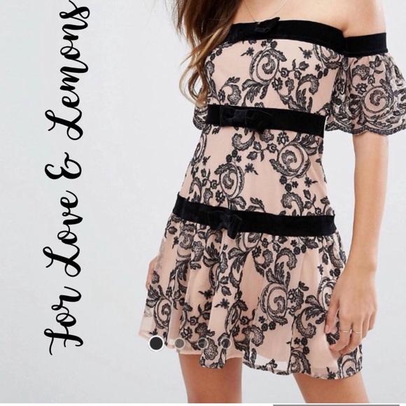 For Love And Lemons Dresses & Skirts - For Love & Lemons Clemence Mini Dress